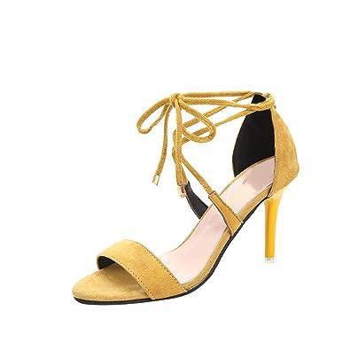 Femme Ete Tongs Sandales Soirée Lanièrespetit Avec Talon Chaussures 4AjL35R