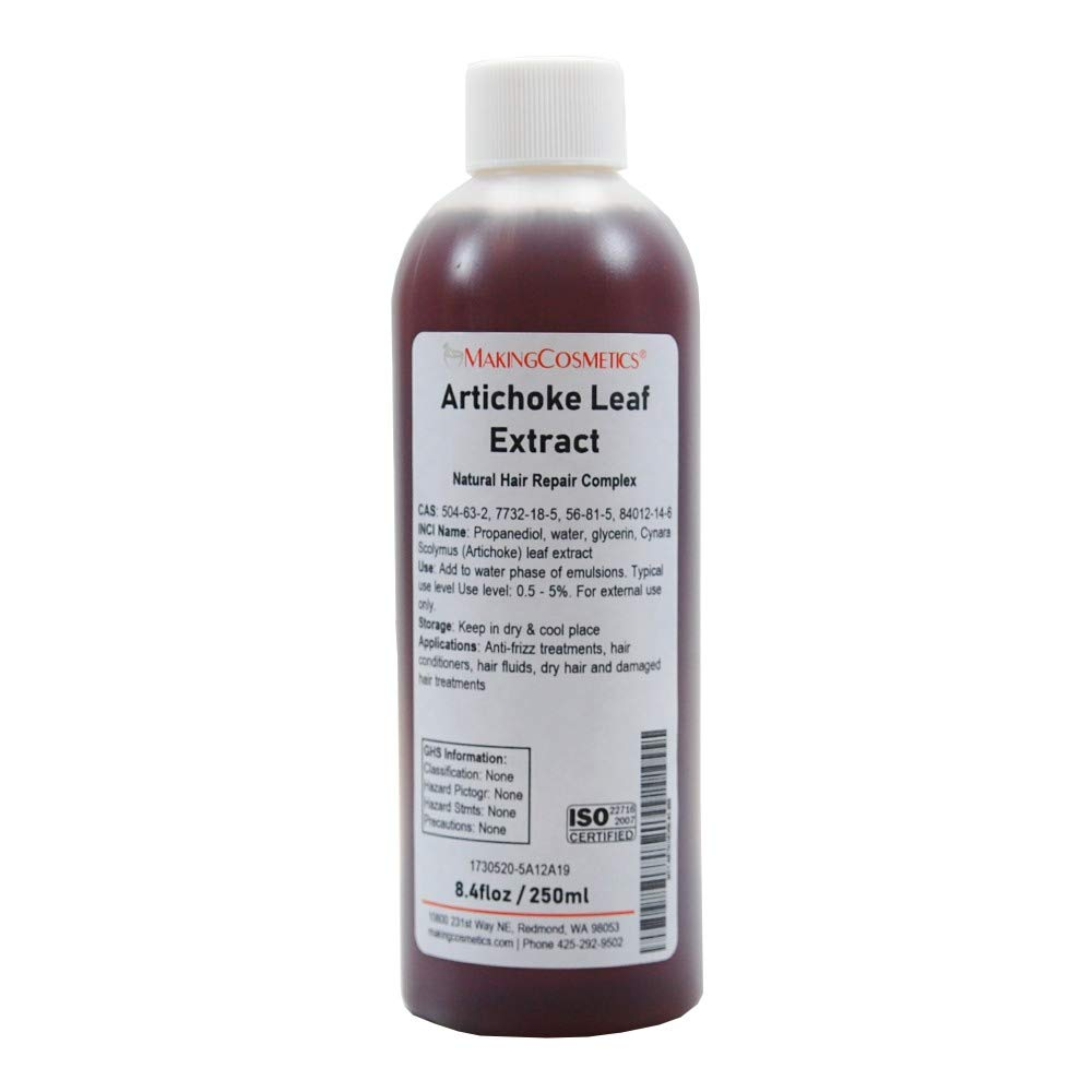 MakingCosmetics - Artichoke Leaf Extract - 8.4floz / 250ml - Cosmetic Ingredient