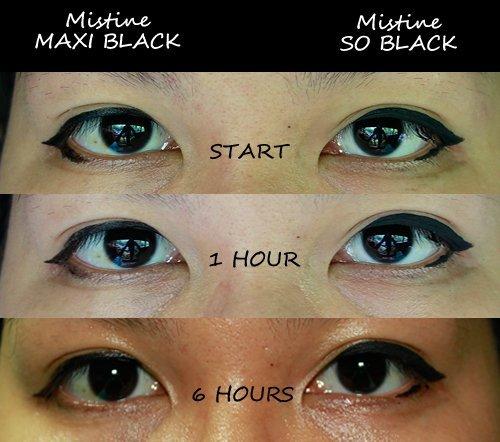 Mistine so Black Matte Liquid Eyeliner Waterproof - So Black