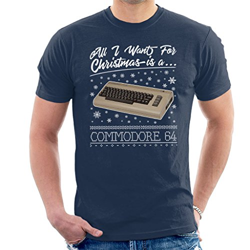 All I Want for Christmas is A Commodore 64 Men's T-Shirt