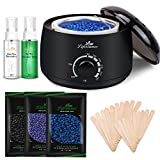 Lifestance Wax Warmer Hair Removal Kit with Hard