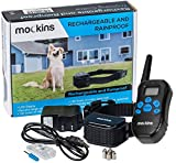 Mockins 100% Rainproof Rechargeable Electronic Remote Dog Training Shock Collar with Beep and Vibration - E-Collar with 330 Yards (990 ft) Distance … … …