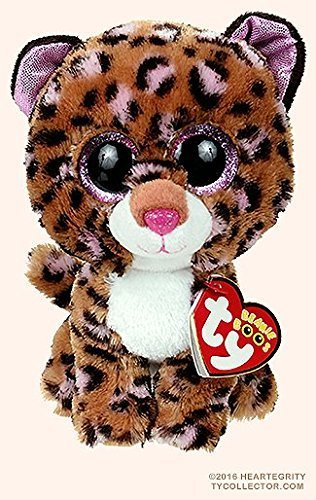 New TY Beanie Boos Cute Patches the Leopard Plush Toys 6 15cm Ty Plush