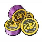 Wychwood Deep Purple Fluro Coated Mono 12lb Braid for Carp Fishing