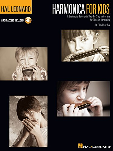Harmonica Book Method Video - Harmonica for Kids - A Beginner's Guide with Step-by-Step Instruction for Diatonic Harmonica: Hal Leonard Harmonica Method