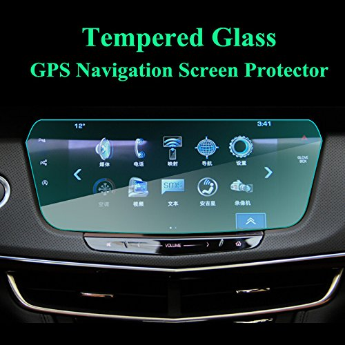 wroadavee Tempered Glass GPS Navigation Screen Protector For Cadillac CT6 2016-2018