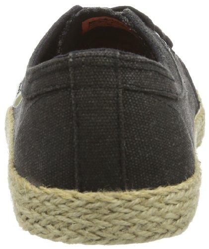 Globe Red Belly GBREDBLY - Zapatillas de deporte de lona unisex Negro (Schwarz (black espadrille 20039))