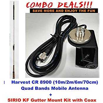 Amazon Com Harvest Cr 8900 29 50 145 435mz Quad Band