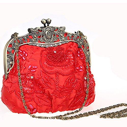 Black Belsen Clutch red black red Black Belsen Belsen black Women's Clutch Clutch Women's Women's R0ZURq