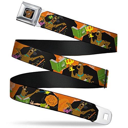 Buckle-Down Seatbelt Belt - Scooby Doo Halloween/Snack Spells - 1.0
