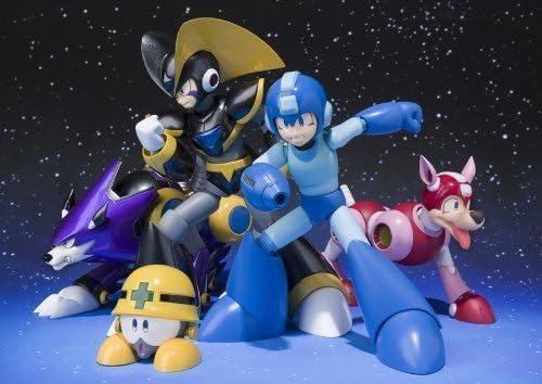Bandai D-Arts Forte /& Gospel Bass /& Treble Megaman Rockman Action Figure