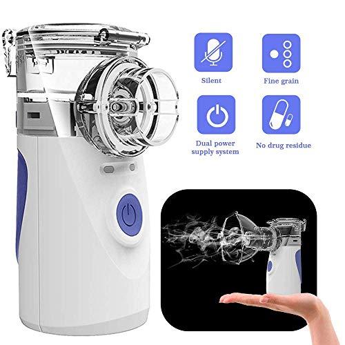 Portable Mini Vaporizers Machine Handheld Travel Steam Compressor Humidifier Cool Mist Inhaler Kits