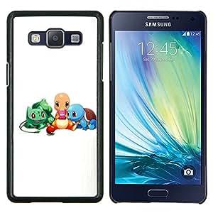 LECELL--Funda protectora / Cubierta / Piel For Samsung Galaxy A5 A5000 -- Pokemn Amigos --