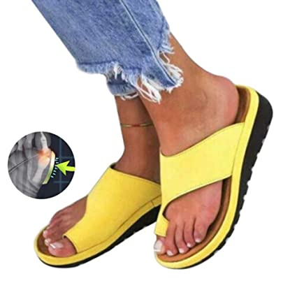ZGDGG Big Toe Foot Correction Sandal