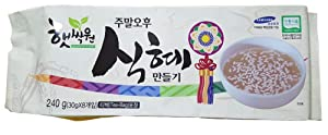 Sikhye Easy-Making Kit, 햇싹원 식혜만들기 8 Teabags, 240g (8.5oz) from South Korea 100%