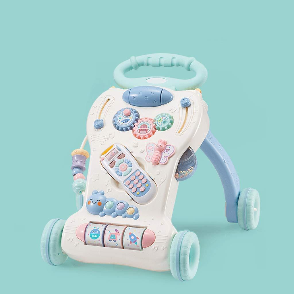 特売 赤ちゃんの幼児のトロリー多機能6~18ヶ月調整可能なスピードミュージックおもちゃ B07JYW98TW B07JYW98TW, コダマグン:d837cffb --- kilkennyhousehotel.ie