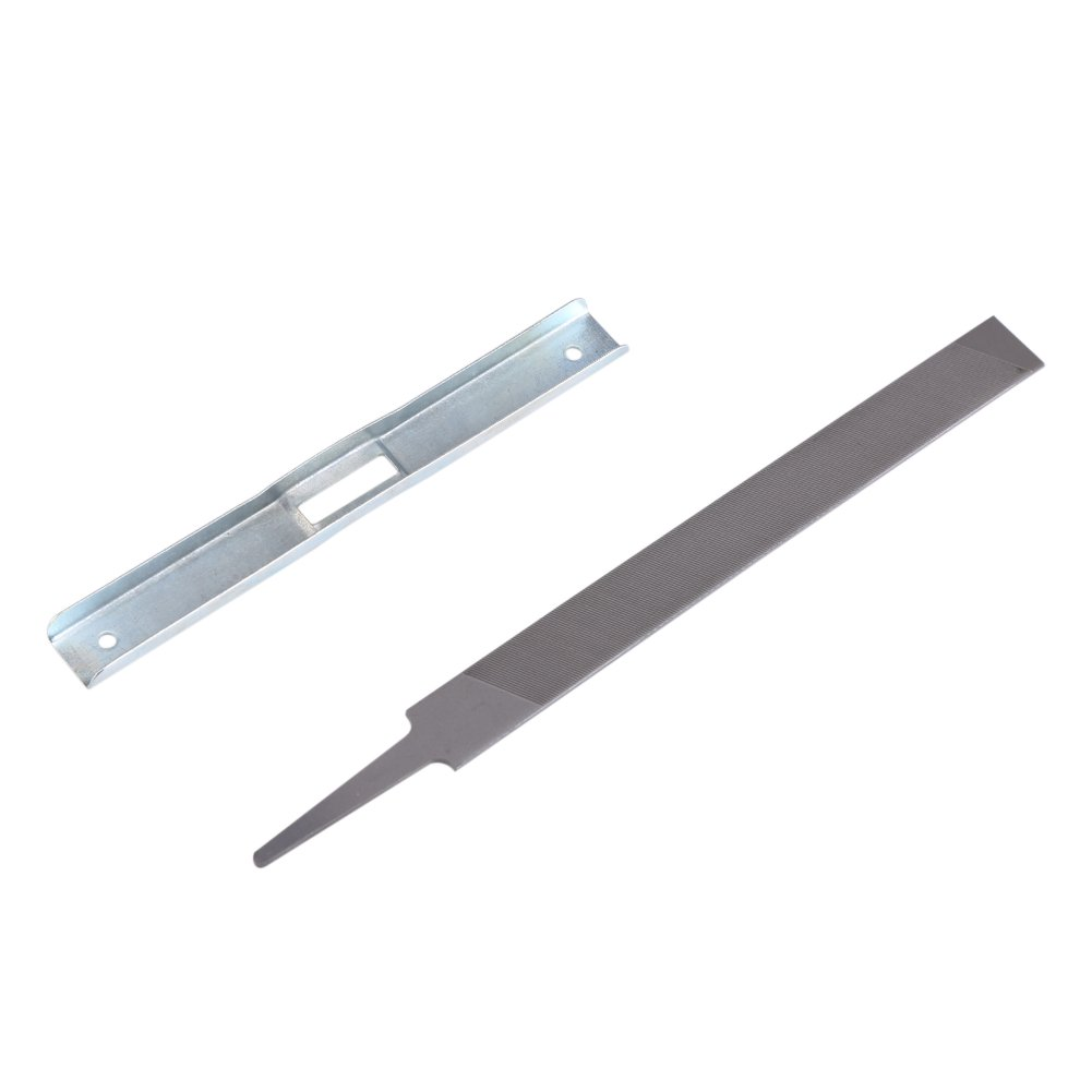 Flat File Depth Gauge Tool Chain Saw Blade Sharpening Kit Depth Gauge & Flat File for General Chainsaw Raker Guide GLOGLOW