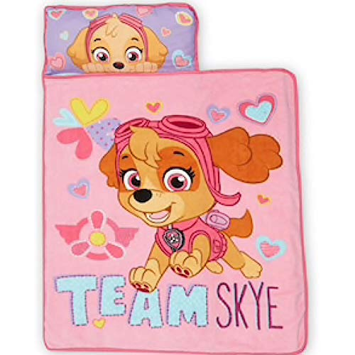 (Nickelodeon Paw Patrol Skye Kids Nap Mat with Blanket)