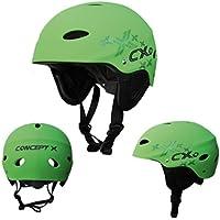 Concept X CX Pro - Casco para Deportes Acuáticos Verde