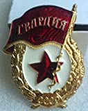 #8: Gvardiya Gvardia Guard WW2 USSR Soviet Union Russian Military Historical Badge