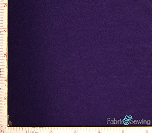Dark Purple Stretch Knit Jersey Fabric 4 Way Stretch Rayon Spandex 8 Oz - Stretch Knit Purple