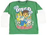 Nick Jr Go Diego One Big Rescue Kids T-Shirt Green