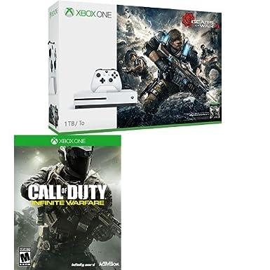 [Amazon Canada]Xbox One S 1TB + Gears of War 4 + Call of Duty IW $379.99