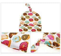 Quest Sweet Newborn Swaddle,Swaddle Cocoon,Blanket&Tire Cap Set (1-3 Pack)