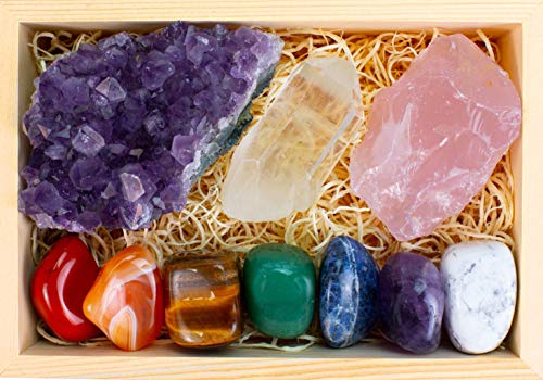 little box of crystals and gems - 4
