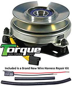 51wsc3ClbvL._SY300_ amazon com bundle 2 items pto electric blade clutch, wire Borg Warner Clutch Catalog at mr168.co