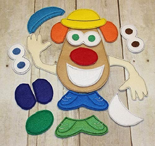 Toddler Montessori Educational Learning Toy Build A Potato Head Boy Game Busy Bag Activity