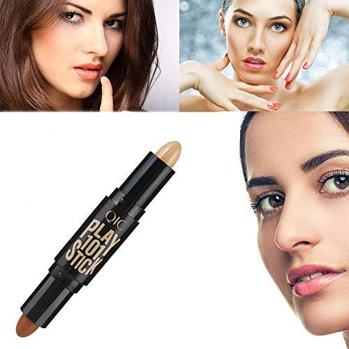 (Jonerytime Modified Pen Faulty Face Makeup Covering Dark Circles Spot Concealer (C))