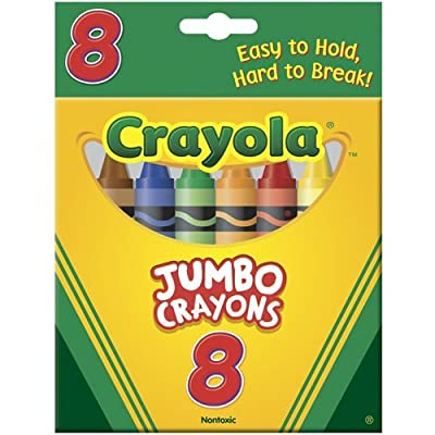 Crayola 52-0389 Crayons Jumbo, Pack of 2: Home & Kitchen