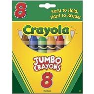 Crayola 52-0389 Crayons Jumbo
