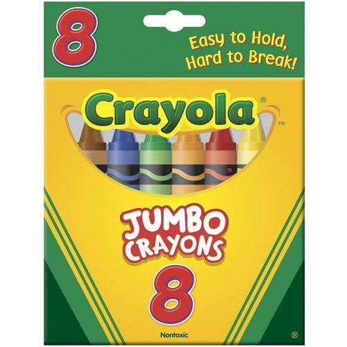 Crayola 52-0389 Crayons Jumbo, Pack of 2 -