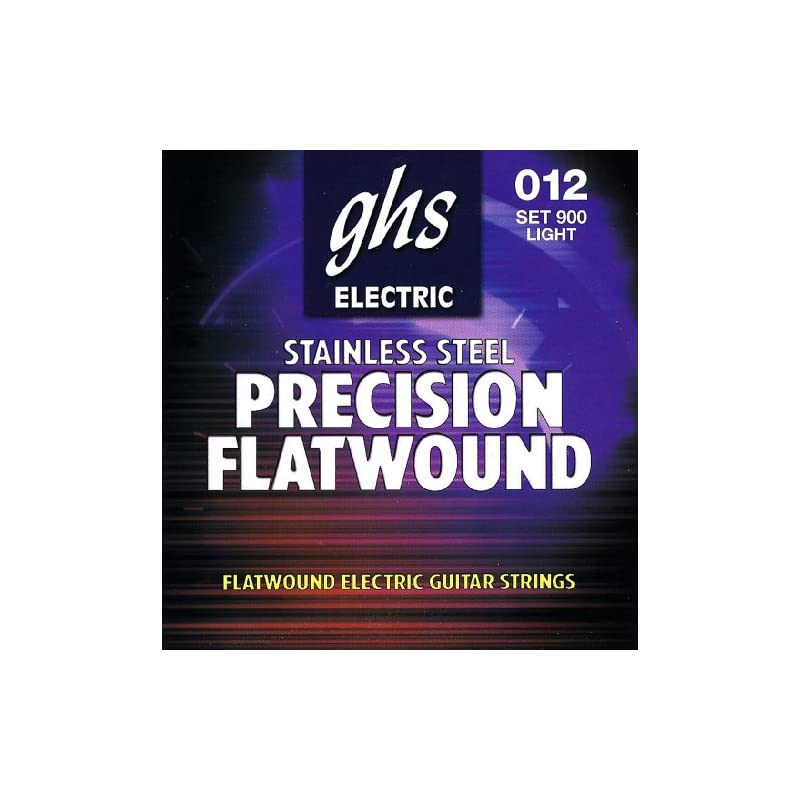 GHS Strings 900 Precision Flats, Stainle