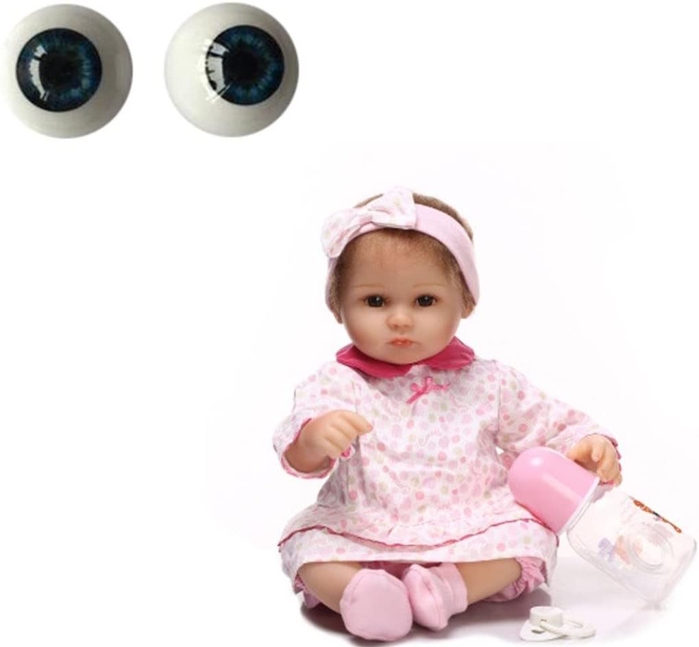 22mm Green Half Round Acrylic Eyes Doll Accessories Reborn Baby BJD OOAK Doll