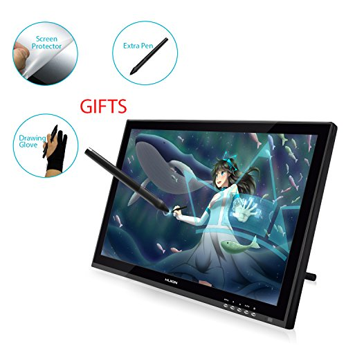lovely Huion GT-190 Pen Display Graphics Drawing Tablet