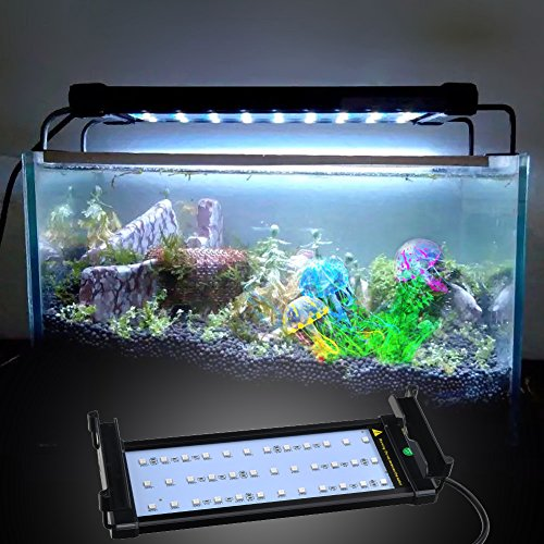 Aquarium hood lighting color changing remote controlled for Fish tank light hood
