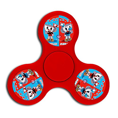 Price comparison product image High Speed Run And Gun_Cuphead Fingertip Gyro Hand Spinner Toys For Children Adults ADHD