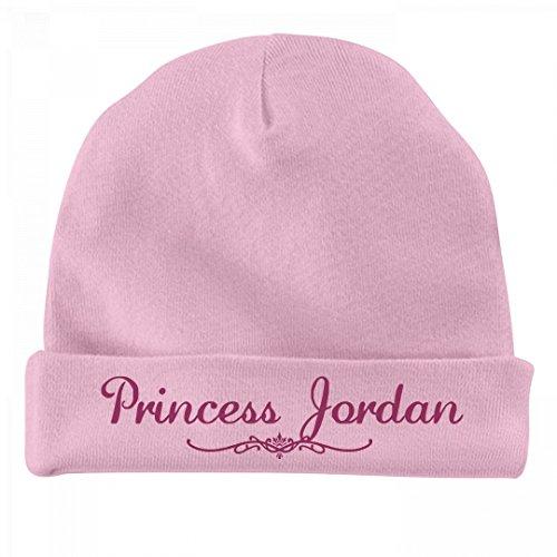 FUNNYSHIRTS.ORG Princess Jordan Newborn Gift: Infant Baby Hat by FUNNYSHIRTS.ORG