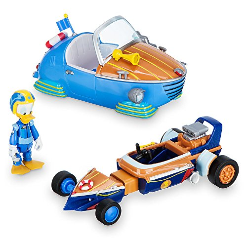 Disney Donald Duck Transforming Pullback Racer - Mickey The Roadster ()