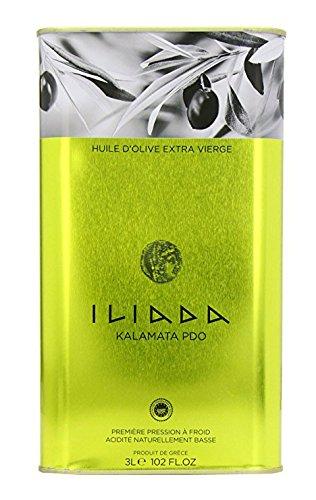 Iliada Kalamata PDO Extra Virgin Olive Oil 3L Tin ()