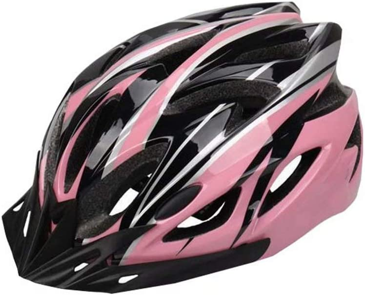 JinYiny Casco per Bicicletta per Adulto Casco per Mountain Bike Regolabile Casco per Bicicletta da Bicicletta MTB Equitazione Caschi Traspiranti Leggeri per Uomo e Donna
