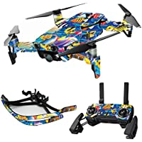 MightySkins Skin for DJI Mavic Air Drone - Tropical Fish   Max Combo Protective, Durable, and Unique Vinyl Decal wrap cover   Easy To Apply, Remove, and Change Styles   Made in the USA