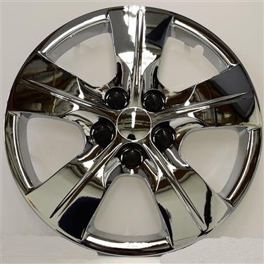 (New Wheel Covers Hubcaps Replacements Fits 2016-2018 Chevrolet Cruze L/LS: 15 Inch; 5 Spoke; Chrome Plated; Plastic; Set Of 4)