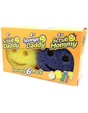 Heavy Duty Scrubber Sponge For All Purpose 6 pk