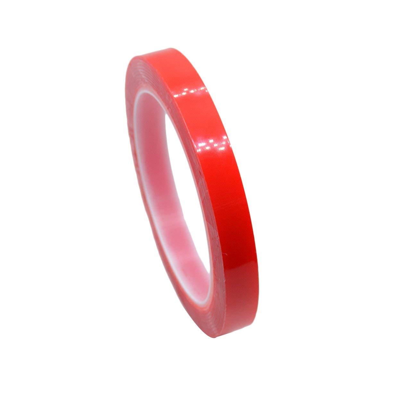 MXECO Adhesivo acr/ílico de doble cara Adhesivo fuerte de alta adhesivo para autom/óvil Adhesivo de doble cara Cinta transparente transparente de doble cara Impermeable