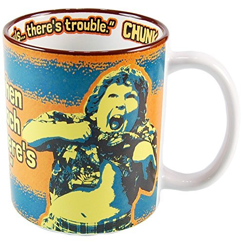 Goonies Mug, Chunk: I know When My Stomach Growls...There's Trouble