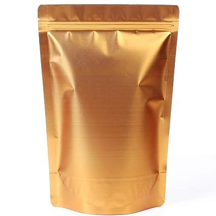 WRAPOK Zip Lock Stand Up Bolsas Papel de aluminio Bolsas de ...